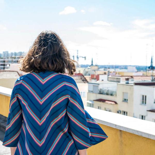 chaqueta rayas