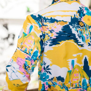 Camisa Ana de Valle espalda